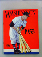1955 Senators Yearbook (52 pg) Excellent to Mint Sl creases on cover, ow like new
