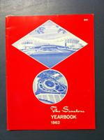 1962 Senators Yearbook (52 pg) Excellent to Mint Sl crease on cover, ow like new