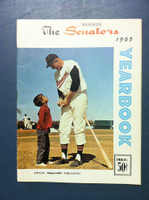 1965 Senators Yearbook (50 pg) Frank Howard Cover Near-Mint to Mint Very clean