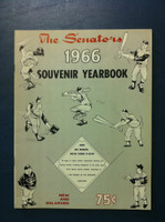 1966 Senators Yearbook (58 pg) Near-Mint to Mint Very clean