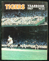 1967 Tigers Yearbook Near-Mint