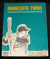 1963 Twins Yearbook Excellent