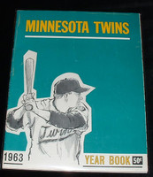 1963 Twins Yearbook Excellent to Mint