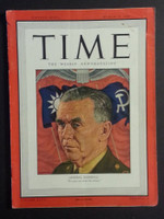 1946 Time Magazine Mar 25 Gen. George Marshall Very Good