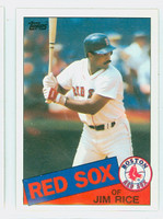 1985 Topps Baseball 150 Jim Rice Boston Red Sox Near-Mint to Mint