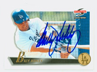 Billy Ashley AUTOGRAPH 1995 Score SUMMIT EDITION Dodgers 
