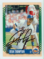 Ryan Thompson AUTOGRAPH 1995 Score Mets 