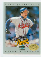 Tony Graffanino AUTOGRAPH 1997 Score Braves 