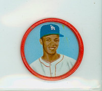 1963 Salada Coins 20 Maury Wills Los Angeles Dodgers Excellent