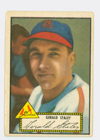 1952 Topps Baseball 79 Gerald Staley St. Louis Cardinals Very Good