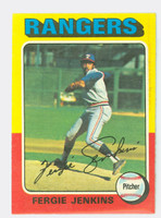 1975 Topps Baseball 60 Ferguson Jenkins Texas Rangers Excellent to Mint