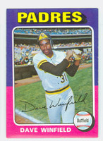 1975 Topps Baseball 61 Dave Winfield San Diego Padres Excellent to Mint