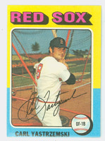 1975 Topps Baseball 280 Carl Yastrzemski Boston Red Sox Excellent to Mint