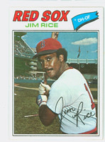 1977 Topps Baseball 60 Jim Rice Boston Red Sox Excellent to Mint