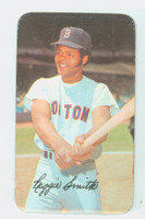 1971 Topps Baseball Supers 1 Reggie Smith Boston Red Sox Very Good to Excellent