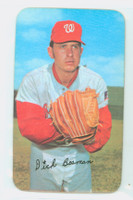 1971 Topps Baseball Supers 7 Dick Bosman Washington Senators Excellent