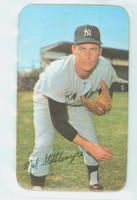 1971 Topps Baseball Supers 10 Mel Stottlemyre New York Yankees Excellent