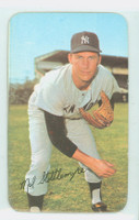 1971 Topps Baseball Supers 10 Mel Stottlemyre New York Yankees Excellent to Mint