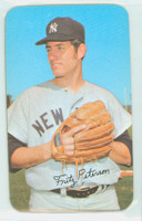 1971 Topps Baseball Supers 13 Fritz Peterson New York Yankees Excellent to Mint