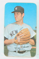 1971 Topps Baseball Supers 13 Fritz Peterson New York Yankees Near-Mint