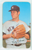1971 Topps Baseball Supers 13 Fritz Peterson New York Yankees Near-Mint Plus