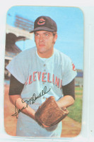 1971 Topps Baseball Supers 16 Sam McDowell Cleveland Indians Near-Mint Plus