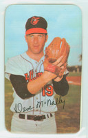 1971 Topps Baseball Supers 18 Dave McNally Baltimore Orioles Very Good to Excellent