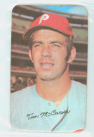 1971 Topps Baseball Supers 34 Tim McCarver St. Louis Cardinals Good to Very Good