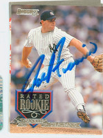 Joe Ausanio AUTOGRAPH 1995 Donruss Yankees 
