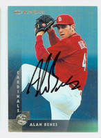 Alan Benes AUTOGRAPH 1997 Donruss Cardinals 