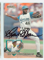 Ryan Bowen AUTOGRAPH 1995 Donruss Marlins 