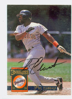 Phil Clark AUTOGRAPH 1994 Donruss Padres 