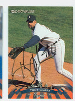 Tony Clark AUTOGRAPH 1998 Donruss Tigers 