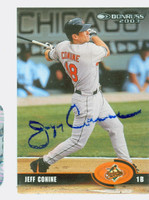 Jeff Conine AUTOGRAPH 2003 Donruss Orioles 