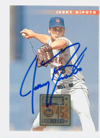 Jerry Dipoto AUTOGRAPH 1996 Donruss Mets 