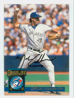Mark Eichhorn AUTOGRAPH 1994 Donruss Blue Jays 