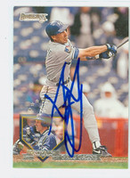 Greg Gagne AUTOGRAPH 1995 Donruss Royals 