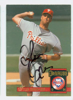 Tyler Green AUTOGRAPH 1994 Donruss Phillies 