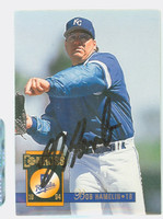Bob Hamelin AUTOGRAPH 1994 Donruss Royals 