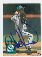 Chris Hammond AUTOGRAPH 1994 Donruss Marlins 