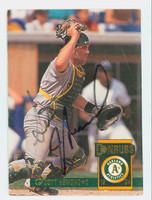 Scott Hemond AUTOGRAPH 1994 Donruss Athletics 