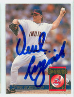 Derek Lilliquist AUTOGRAPH 1994 Donruss Indians 
