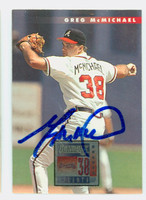 Greg McMichael AUTOGRAPH 1996 Donruss Braves 