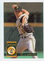 Blas Minor AUTOGRAPH 1994 Donruss Pirates 