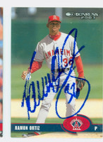 Ramon Ortiz AUTOGRAPH 2003 Donruss Angels 