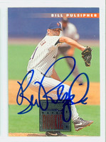 Bill Pulsipher AUTOGRAPH 1996 Donruss Mets 