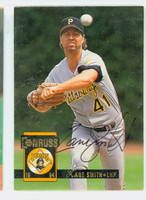 Zane Smith AUTOGRAPH 1994 Donruss Pirates 