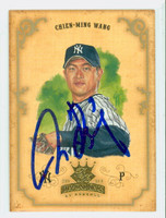 Chien-Ming Wang AUTOGRAPH 2004 Donruss Diamond King Yankees 