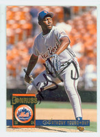 Anthony Young AUTOGRAPH 1994 Donruss Mets   [SKU:YounA13927_DON94BB]