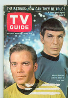 1967 TV Guide Mar 4 Star Trek (First Cover) Central Indiana edition Excellent  [Very lt scuffing on cover, ow very clean; label removed]